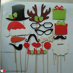 Laser cut photo booth props are popular at any special event, spruce it up