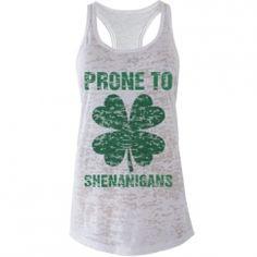 Custom St. Patricks Day Shirts, Tank Tops, Undies, & More