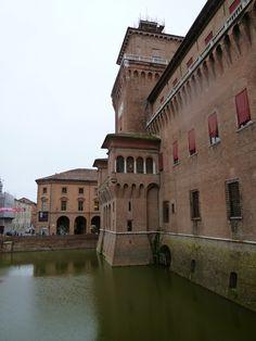 """""""Castello Estense"""", Ferrara Italia (Marzo)"""