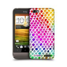 HEAD CASE RAINBOW SNAKE MAD PRINT DESIGN SNAP-ON BACK CASE COVER FOR HTC ONE V