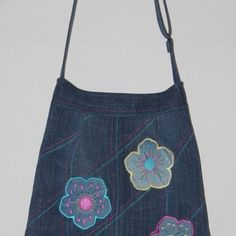 Unikatna torba iz jeansa - reciklaža