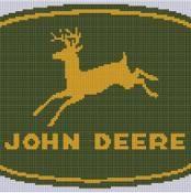 John Deere Cross Stitch Pattern