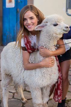 Me and my baby alpaca in Cusco, Peru