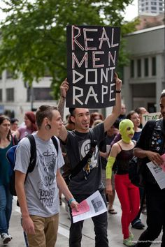 real men don't rape.