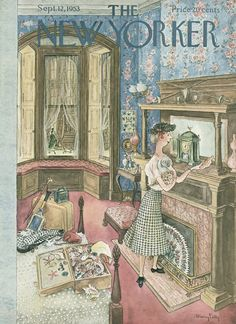The New Yorker - Saturday, September 12, 1953 - Issue # 1491 - Vol. 29 - N° 30 - Cover by : Mary Petty