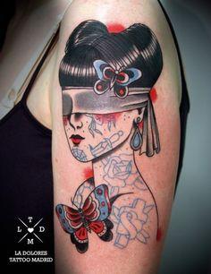 Tatuadora do coração: La Dolores