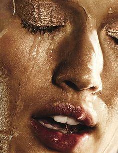 "#Beach #beauty Toni Garrn in ""Adult Swim"" for W Magazine, Photo: Ben Hassett"
