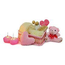 Pink Spa Hamper For Valentine