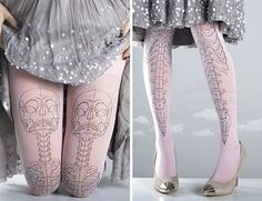 30 Tattoo Socks For Girls Who Love Tattoos But Don't Want To Commit