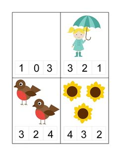 Spring Activities for Kids Counting Activities For Preschoolers, Spring Activities, Toddler Activities, Preschool Activities, Phonics Books, Preschool Writing, Montessori Math, Kindergarten Worksheets, Learning Tools