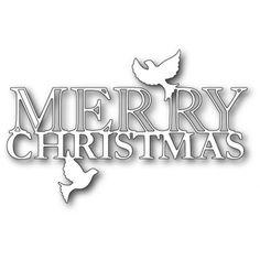 *SALE* Memory Box Christmas Die - New Release - Peaceful Merry Christmas in Crafts, Cardmaking & Scrapbooking, Die-Cutters | eBay