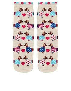 All Over Dachshund Dogs Womens Socks - http://collectibles.goshoppins.com/animals/all-over-dachshund-dogs-womens-socks/