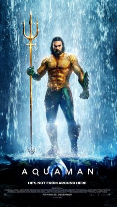 Aquaman on DVD March 2019 starring Jason Momoa, Amber Heard, Willem Dafoe, Patrick Wilson. Aquaman is the king of Atlantis, born half-human as Arthur Curry and half-Atlantean. The film will focus on a surface world constantly ra 2018 Movies, Dc Movies, Good Movies, Movies Online, Movie Tv, Action Movies, Rent Movies, Prime Movies, Movies Box