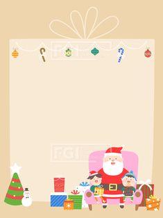 ILL167, 프리진, 일러스트, 이벤트, 프레임, ILL167, 크리스마스, 성탄절, 기념일, 행사, 축제, 홀리데이, 공휴일, 휴일, 겨울, 사람, 인물, 캐릭터, 남자, 남성, 여자, 여성, 노인, 노년, 할아버지, 산타할아버지, 어린이, 아이, 유아, 아동, 산타, 산타클로스, 크리스마스트리, 트리, 나무, 모자, 장갑, 신발, 선물, 선물세트, 장식, 별, 눈사람, 지팡이, 데코레이션, 앉아있는, 다정한, 기쁜, 행복한, 가족, 소파, 함께, 편지지, 카드, #유토이미지 #프리진 #utoimage #freegine