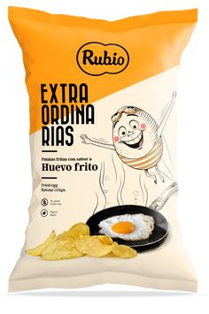 Apple Acid, Huevos Fritos, Potato Crisps, Snack Recipes, Snacks, Web Design Agency, Food Packaging Design, Twist Headband, Fries