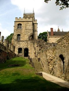 Lincoln Medieval Bishop's Palace.   England