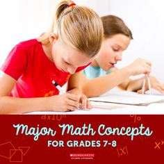 I got 99 problems, but math ain't one. Be prepared to help your child with her 7th or 8th grade math homework using this helpful summary.