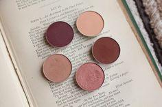 Makeup Geek Eyeshadows! Peach Smoothie, Bitten, Cocoa Bear,Cosmopolitan & Creme Brulee! | claresloves