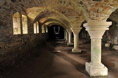 La cellier de l'abbaye de la Lucerne - Manche