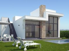 New build - Villa (detached) - (Ref: Rojal A7) This is a development composed of 42 detached villas of contemporary style, finished to a very high standard and built by one of the best developers in the area. Just two minutes from the popular town of Ciudad Quesada, and less than 10 mins drive to fantastic beaches and 20 mins drive from Alicante airport. The properties offer great views of the La Mata salt lake from the ample solarium. 239000€