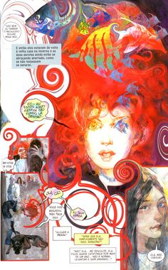Some work from the Sandman by Neil Gaiman