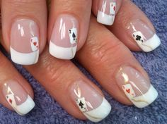 VEGAS BABY !! Nails by Alicia ! for Lisa T ! yes these are handpainted!!!