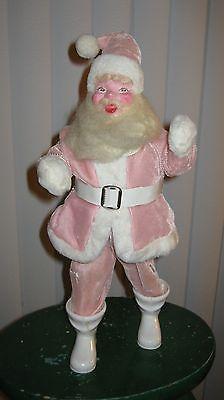 Vintage Harold Gale Pink Santa