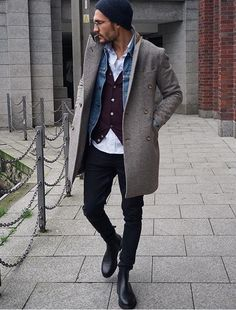 New Moda Hombre Hipster Menswear Outfit 32 Ideas Fashion Mode, Mens Fashion, Mode Outfits, Fashion Outfits, Fashion Hair, Fashion Rings, Stylish Men, Men Casual, Mode Man