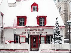 Photographic evidence as to why one must witness Quebec City in winter at least once in one's lifetime + helpful tips for planning a memorable trip. Quebec Winter, Canadian Travel, Sea To Shining Sea, Canada, Quebec City, Countryside, Red And White, How To Memorize Things, Europe