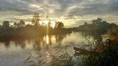Zachód słońca w Bialobrzegach nad Pilica :-)