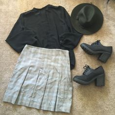 Selling this Cute School Girl Uniform High Waisted Skirt in my Poshmark closet! My username is: eimiguen. #shopmycloset #poshmark #fashion #shopping #style #forsale #Ingredients #Dresses