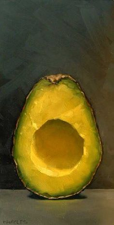 MICHAEL NAPLES  #avocado #art