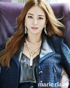 Han Ye Seul is Featured Inside the Covers of Marie Claire Magazine | Koogle TV