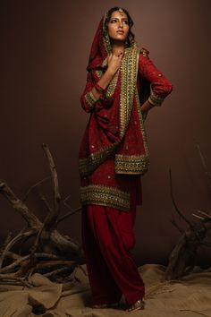 traditional desi bride