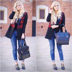 Choies Coat, Mexx Pants, Zara Shoes
