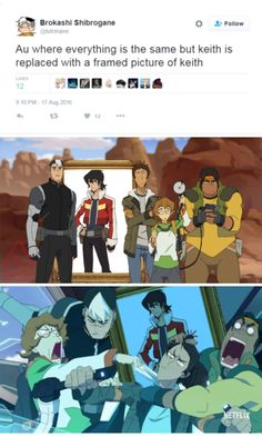 Voltron - this fandom has been on hiatus for too gosh darn long. < and it's only been 5 months