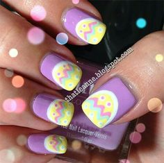 36 Easter Nail Art Designs And Ideas, Given both advantages and pitfalls, still they're a better choice absolutely. A superb nail does not have any fears of being hammered! The absolute mo. Easter Nail Designs, Easter Nail Art, Holiday Nail Designs, Creative Nail Designs, Creative Nails, Love Nails, How To Do Nails, Pretty Nails, Cross Nail Designs