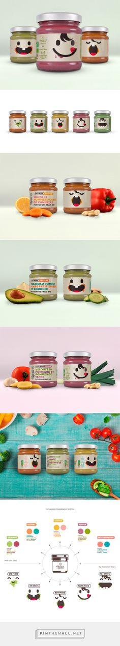 Les Bocaux de Mamie on Packaging of the World - Creative Package Design Gallery... - a grouped images picture - Pin Them All