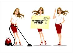 Cleaning Service Needs Illustrations