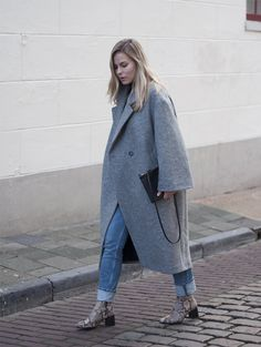 OOTD, outfit, winter, winter coat, wool, oversized, H&M Trend, street style, Dutch, fashion blogger, women fashion, Style by Jules