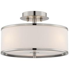 Perfect mix of modern and classic. Might be a nice, subtle option in lieu of a chandelier.