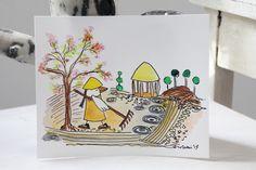 GarZenKunst - Japanischer GärtnerVogel #1 von PiepShow  auf DaWanda.com