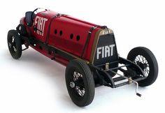 Italeri's (Protar molds?) 1/12 scale Fiat Mefistofele.
