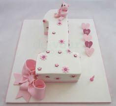 Rainbow MMs First Birthday Cake Tutorial Birthday Cakes - 1st birthday cake girl