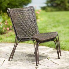 Arthur All-Weather Wicker Patio Stack Chair (2-Pack)