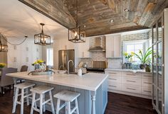 shiplap farmhouse with open concept - Yahoo Image Search Results
