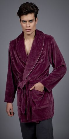 Men's robe Velvet 1747 Pyjamas, Velvet, Luxury, Men, Collection, Fashion, Dress, Moda, Fashion Styles