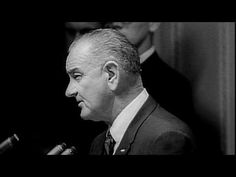 ▶ Vietnam War- Draft Newsreel - YouTube LBJ speech in which he justifies increased involvement in Vietnam