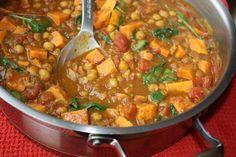 Sweet Potato & Chick Pea Curry