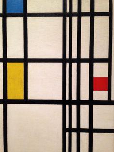 NYC by Piet Mondrian. MoMa NYC.